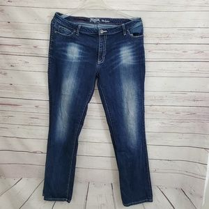 Rock By Wrangler Jeans Low Rise Bootcut 17/18